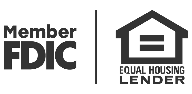 FDIC and Equal Housing Lender logo