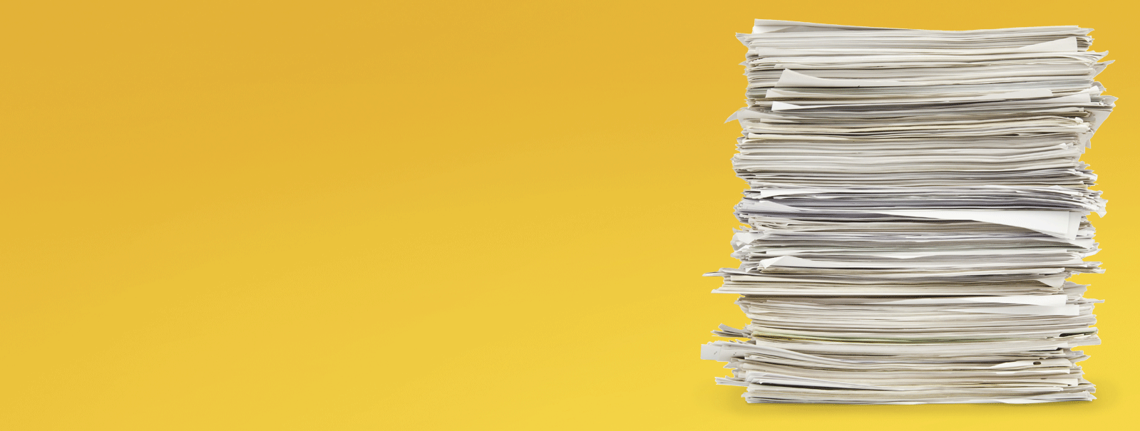 Eliminate stacks of paper by going paperless